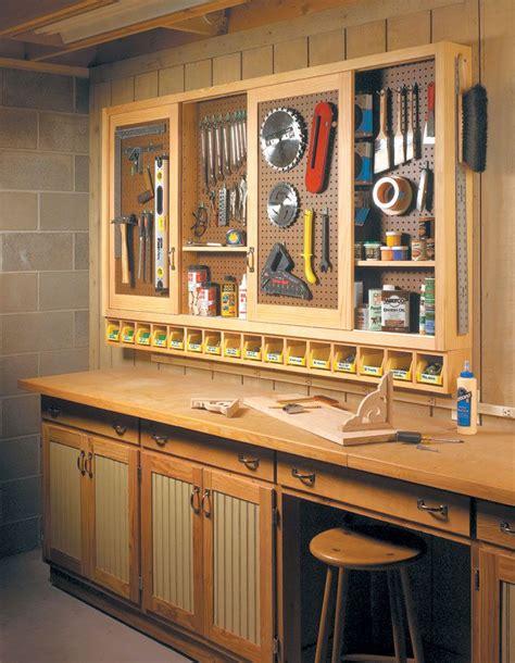 sliding door shop cabinet woodsmith plans shop