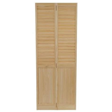 21 Inch Interior Doors by Bay 30 In X 80 In 30 In Plantation Louvered
