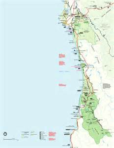 redwood national park map redwood national park