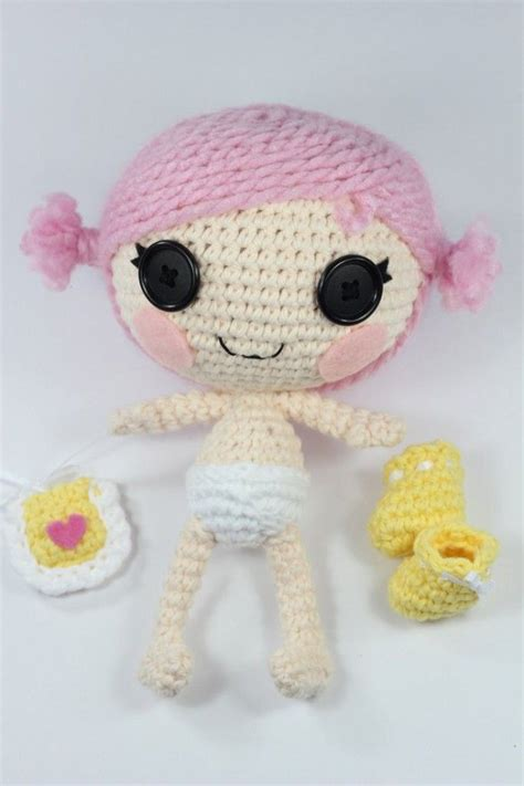 pattern for lalaloopsy clothes lalaloopsy crochet patterns from epickawaii doll house