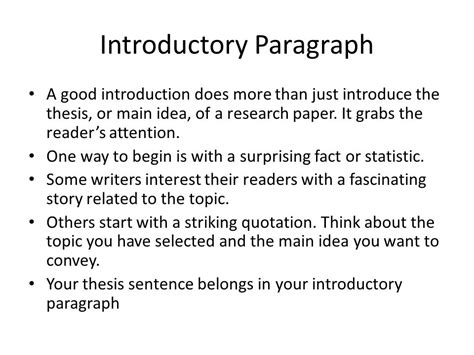 how to write a introduction for a research paper how to start a research paper introduction