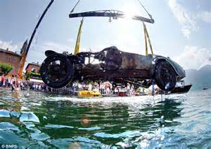 Bugatti In Lake The Bugatti Car Plucked From Lake After 70 Years That