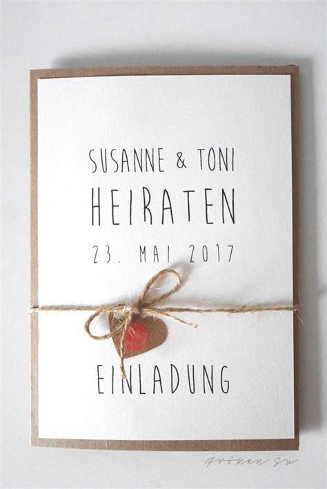 Hochzeitseinladungskarte Selbst Gestalten diy einladungskarte f 252 r eure hochzeit
