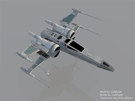 fliese 70 x 70 wars the awakens t 70 x wing render by