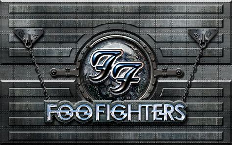 join foo fighters fan foo fighters metal wall by vectorgeek on deviantart
