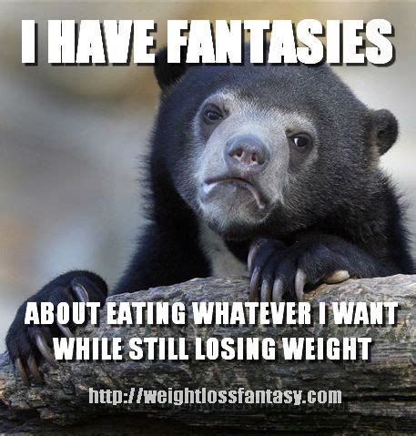 Losing Weight Meme - weight loss meme confession bear