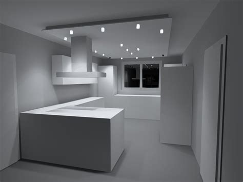 Decke Mit Spots by Led Spots Mit Abgeh 228 Ngter Decke Haus Ideen