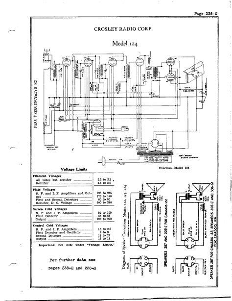 crosley radio wiring diagram book wiring diagrams