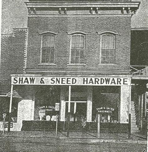 ace hardware history history sneed s ace hardware