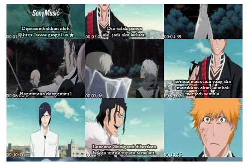 free download bleach episode 1 sub indo