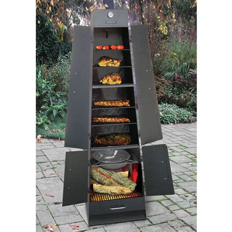 Fireplace Grill by Landmann Quadque Ultimate Fireplace Grill Smoker