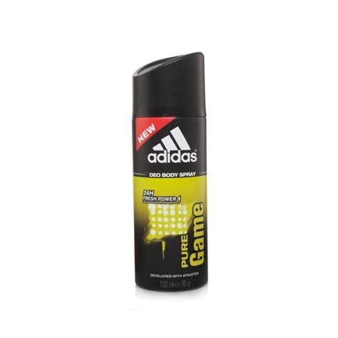 Parfum Adidas Deo Spray fragranced deodorant 150ml spray mens from base uk