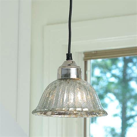Mercury Glass Island Light Ribbed Dome Mercury Glass Shade Pendant Light Mercury Glass Glass Shades And Mercury