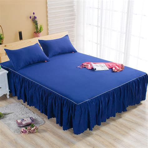 bed cover sheet aliexpress com buy bed skirt case cover bedspread bed