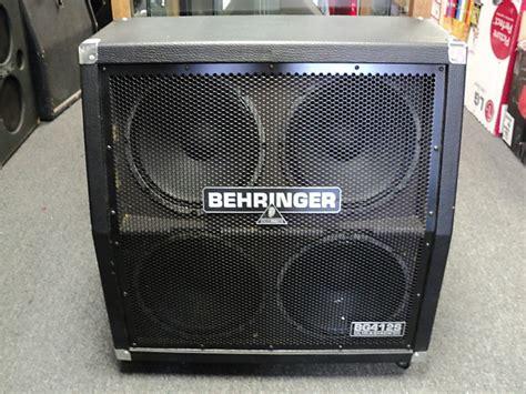 Behringer Bg412s Ultrastack 400 Watt 4x12 Stereo Surround Behringer 4x12 Guitar Cabinet
