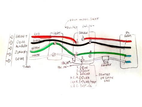 thermostat wiring diagram color code thermostat wire