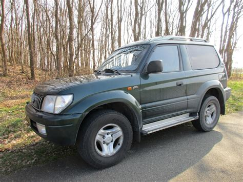 2002 Toyota Land Cruiser by Coal 2002 Toyota Land Cruiser 90 3 0 D 4d Tough Stuff