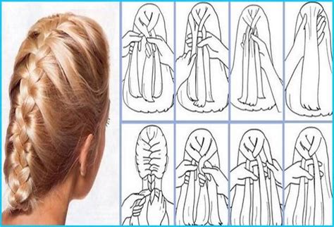 how to do plait hairstyles how to do a french braid image video tutorial
