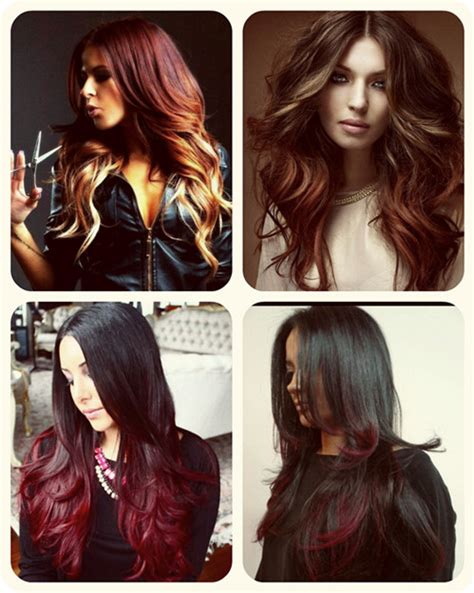 different ombre hair colors the best ombre hair color match different skin tone