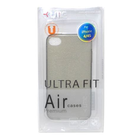 jual ume ultra fit air silicon soft iphone 4 4s black