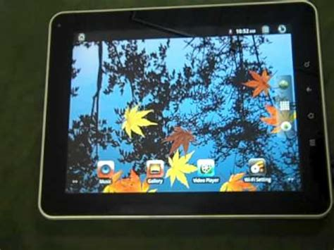 reset android impression tablet how to reset a8 doovi