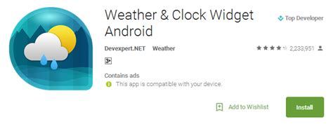 weather and clock widgets for android best weather apps and weather widgets for android androidjv