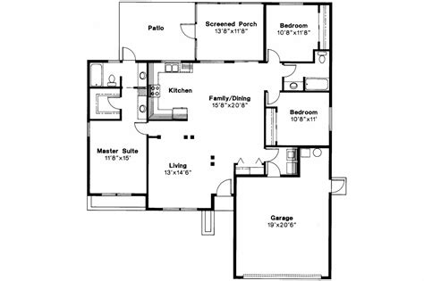 Mediterranean House Floor Plans by Mediterranean House Plans Anton 11 080 Associated Designs