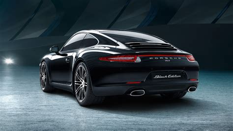 porsche black 911 here s your gallery of porsche s new 911 and boxster black