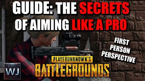 pubg aiming tips console guide the secrets of aiming like a pro fpp in