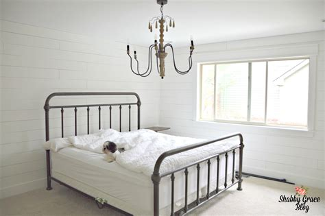 shiplap bedroom shiplap master bedroom shabby grace