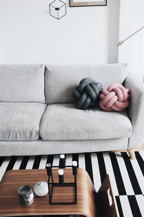 design house stockholm knot cushion we love design house stockholm x knot cushion milk honey