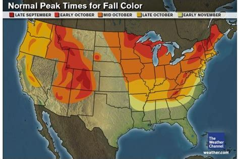 us fall color map 25 best ideas about fall foliage map on fall