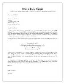 Sle Executive Cover Letters by Sales Executive Cover Letter Exle