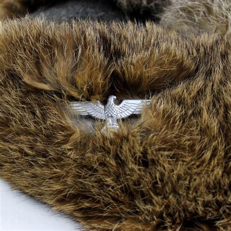 44th collectors avenue officers winter fur cap w wh