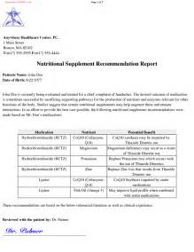 Recommendation Report Template by Recommendation Report