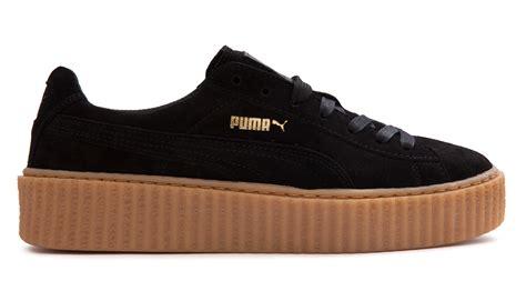 Sepatu Rihanna Rihana X By Creeper Creepers Fenty Maroon fenty by rihanna suede creeper fenty x shoes