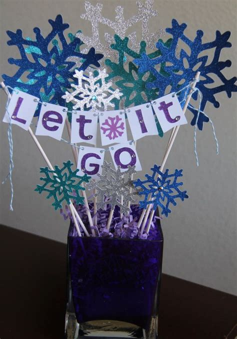 frozen themed party kelso frozen themed centerpiece frozen birthday frozen