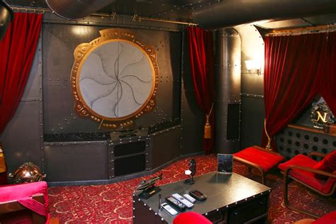 submarine room the world s best media room the batcave vs the nautilus the retort