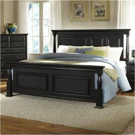 black poster bed four poster bed king size