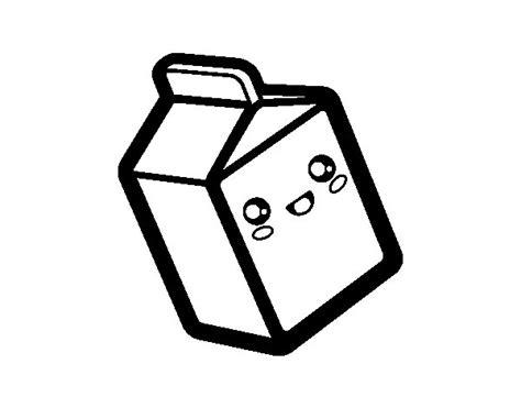 imagenes de comida kawaii para colorear dibujo de tetra brik para colorear dibujos net