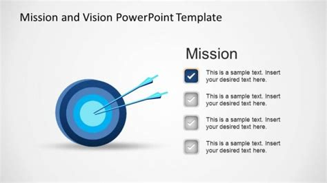 templates for vision and mission statements mission and vision powerpoint template slidemodel