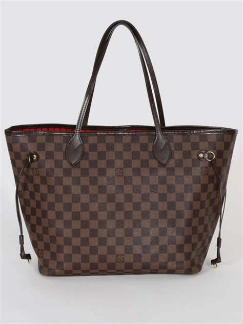 Ultra Exclusive Bags From Louis Vuitton by Louis Vuitton Neverfull Mm Damier Ebene Canvas Luxury Bags