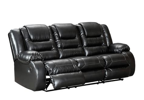 Black Reclining Sofa Set Vacherie Black Reclining Sofa Set Overstock Warehouse