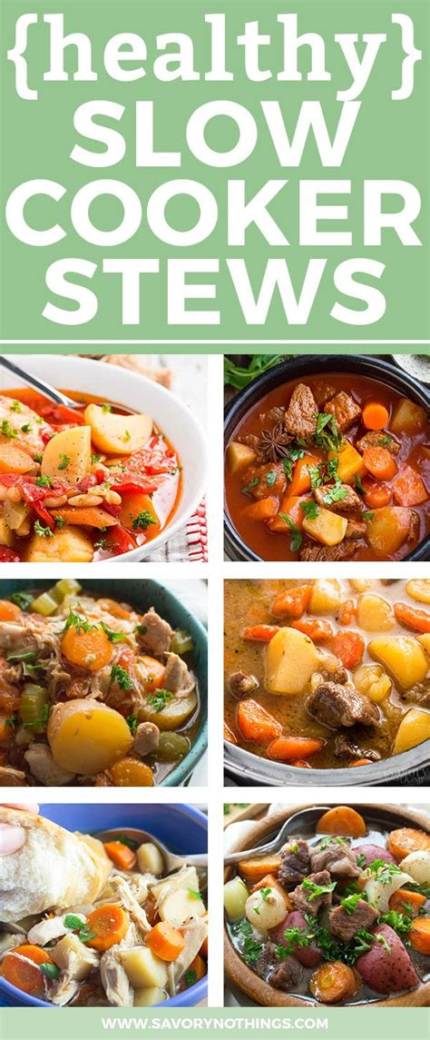 40 easy slow cooker recipes for busy nights best crock 18 healthy slow cooker stew recipes for busy fall nights