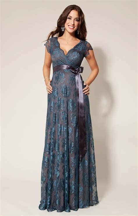 maternity party dress long eden maternity gown long caspian blue maternity