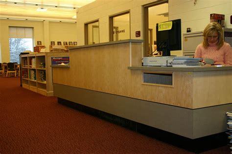 circulation desk information desk children s library desk