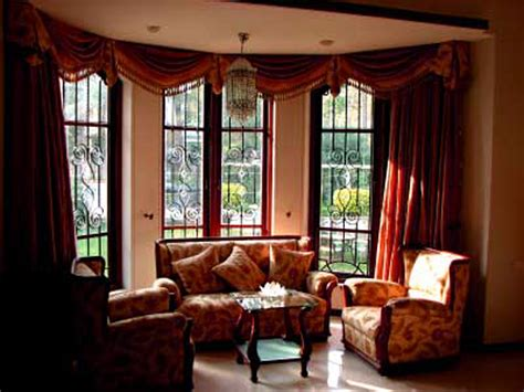 Window Treatment Ideas For Bay Windows Decorating Design Ideas For Bay Window Treatments Day Dreaming And Decor