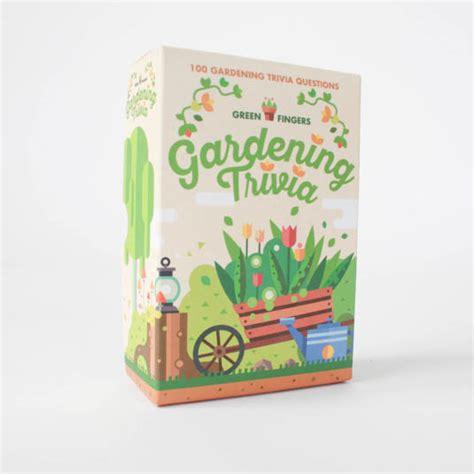 gardening trivia from gift republic