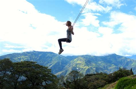 swing at the end of the world it s time to update your bucketlist the swing at the end