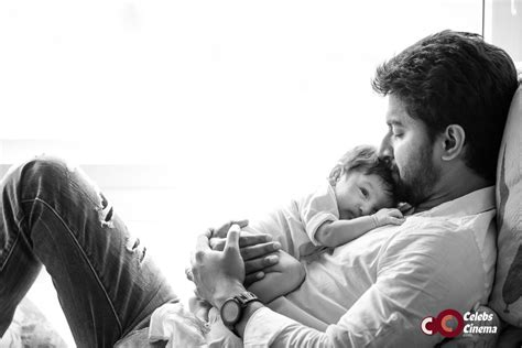 a and his see pic nani introduces his arjun to the world jr nani